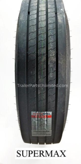 "22.5"" 295/75R22.5 14-Ply SuperMax HT1 Trailer Tire"