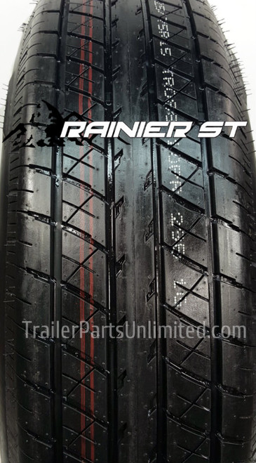 ST225/75R15 10-Ply Rainier Radial Trailer Tire  LRE