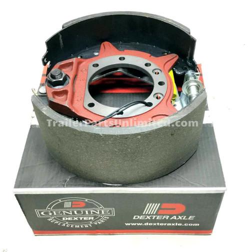 "Dexter 12k Electric Self-adjust Brake Assembly Right Hand 12-1/4"" x 5"""