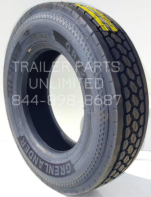 295/75R22.5 14-ply Grenlander GR622 Closed Shoulder Drive Tire