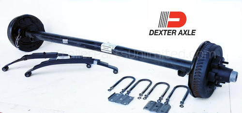 5,200 lbs. Dexter Electric Brake Axle Trailer Kit