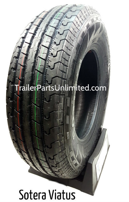 """14"""" ST205/75R14 6-Ply Sotera Radial Trailer Tire"""