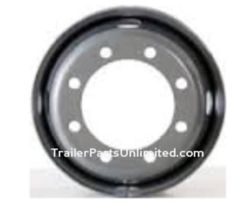 """17.5"""" Silver Steel Dual Wheel 8x275mm"""" bolt pattern"""