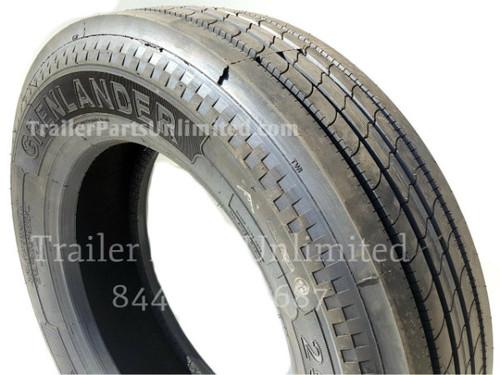 295/75R22.5 14-Ply Grenlander GR612 Steer Tire