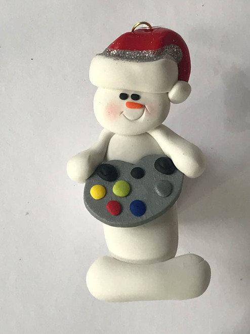 Video Game Player Snowperson