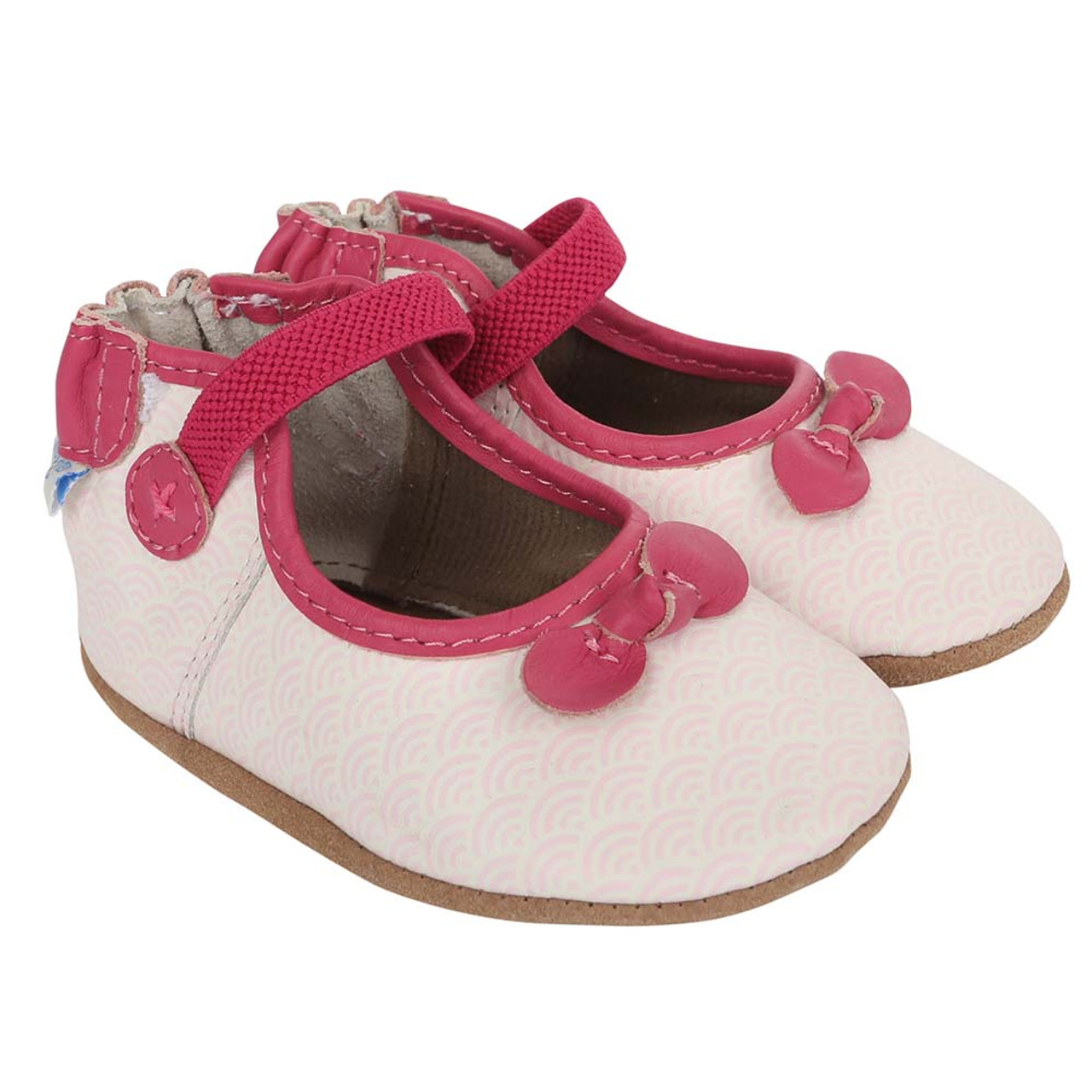 Baby Shoes Seashell Mary Jane Soft Soles Girls Baby Infant