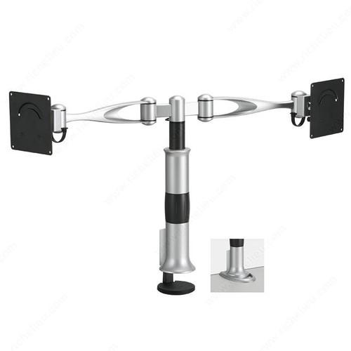 Richelieu Desk-Mountable Dual LCD Arm GGF-5006224106