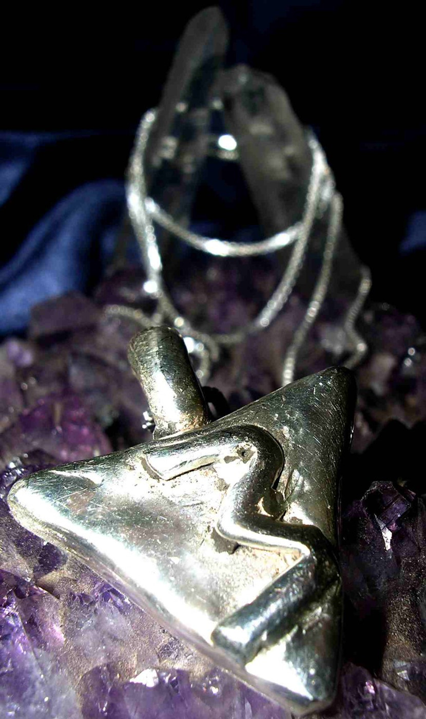 Rule of Three Pendant Draws Prosperity, Peace and Protection