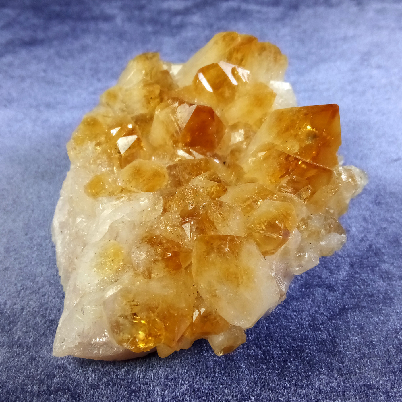 Wonderful Natural Citrine Crystals Carry The Power of The Sun
