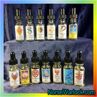 Angel Spiritual Oil Draws Guiding Spirits to Watch Over and Bless You