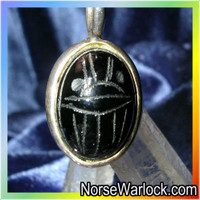 Scarab Pendant, Protection in The Underworld, Walk with The Undead