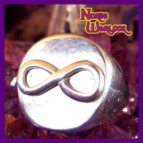 Illuminati Infinity Ring for Enlightenment, Success, Power and Wealth