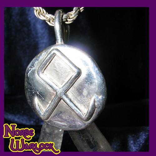 Othala, Odin's Rune, Viking Pendant of Prosperity