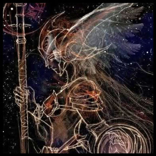 Celestial Warrior Goddess Spell for Protection, Courage and Confidence