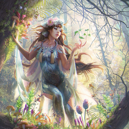 Morella, Beautiful Young Forest Nymph Spirit Fulfills Your Every Desire!