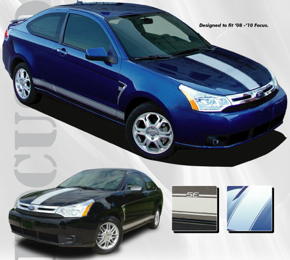2008-2010 Ford Focus (Focused Rally Graphic Kit)