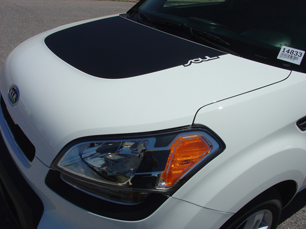 2010-2016 Kia Soul Patch Graphic Kit