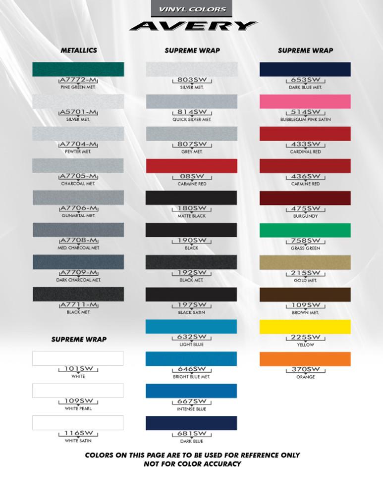 2009-2015 Chevrolet Camaro Gills Original Style Graphic Kit
