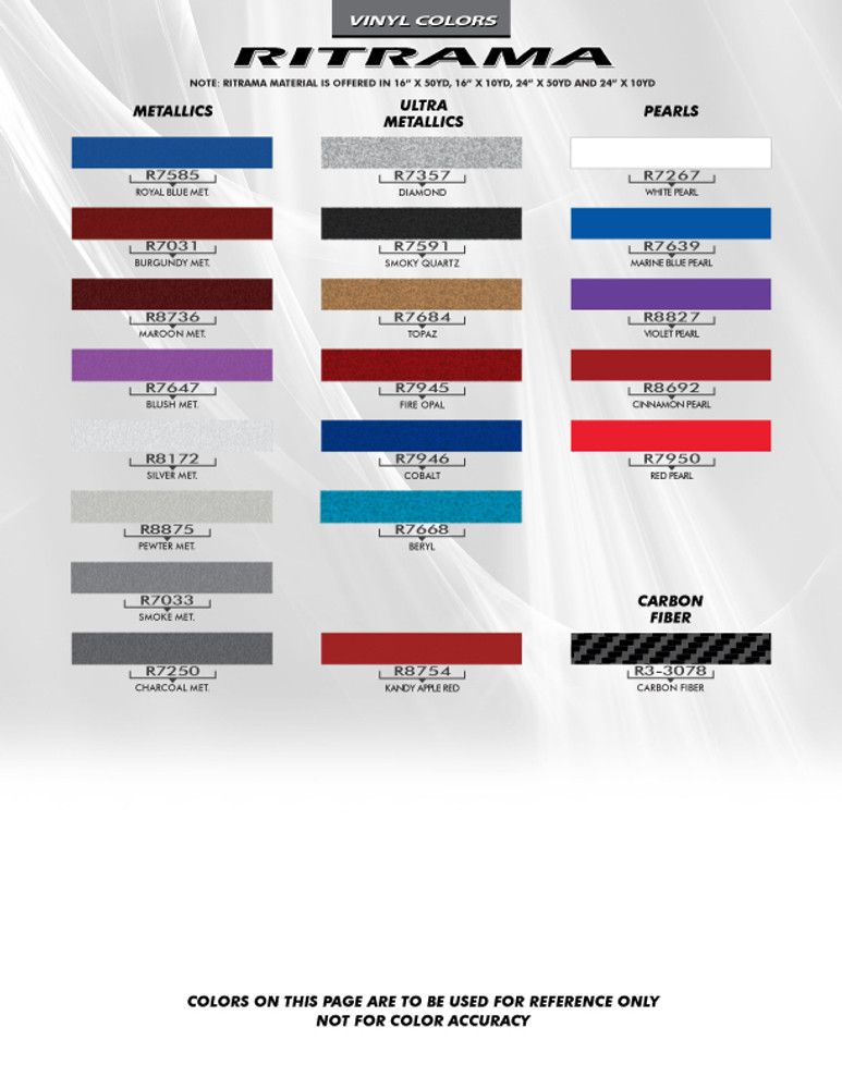 Ritrama Color Chart Page 3