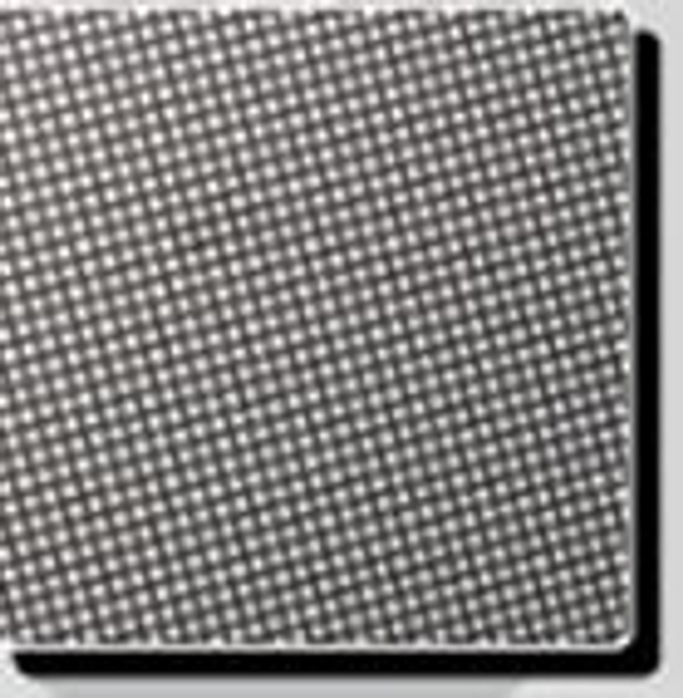 Screen dot pattern printed on clear film