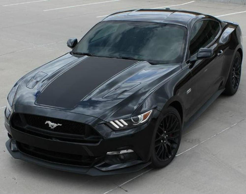 2015-2017 Mustang MEGA Hood Graphic