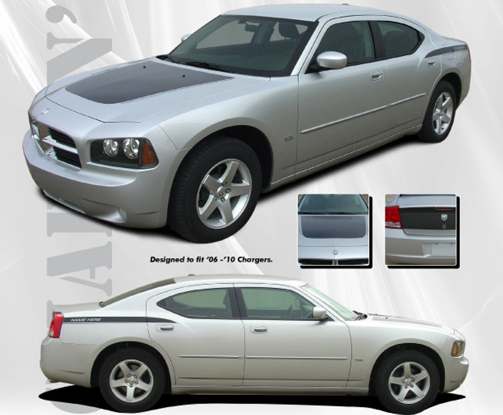 2006-2010 Dodge Charger Chargin' 2 Graphic Kit