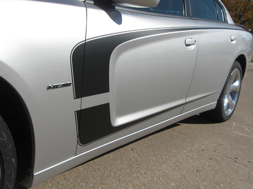 2011-2014 Dodge Charger C-Stripe Graphic Kit