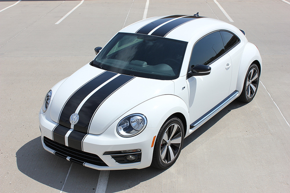 2012 2016 volkswagen beetle rally stripe kit