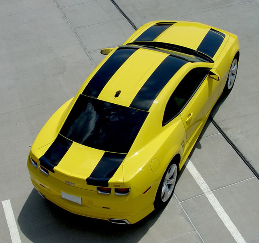 09-13 Chevrolet Camaro Bee 2 Racing Stripes Graphic Kit Rear
