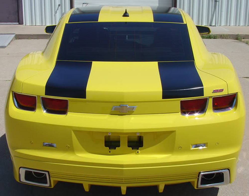 09-13 Chevrolet Camaro Bee 2 Racing Stripes Graphic Kit Back