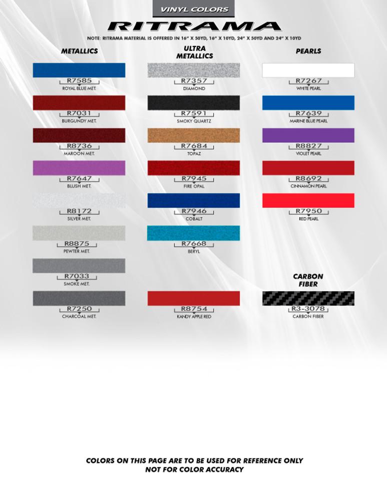 2013-2016 Chevy Spark Arc Vinyl Side Stripes Graphic Kit