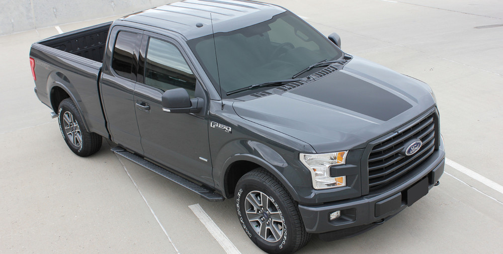 2015- 2017 Ford F-150 Rouse Vinyl Hood Graphic Kit