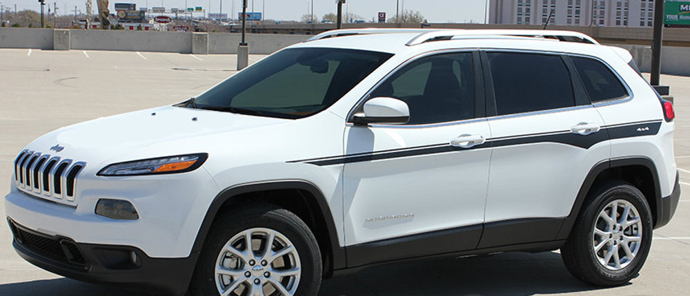 2017 Jeep Cherokee Chief Vinyl Graphics Kit
