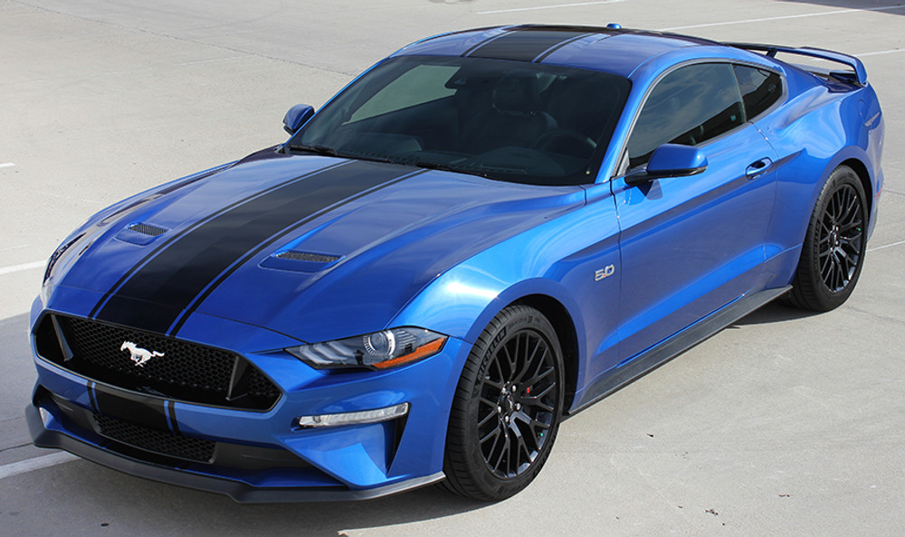 2018 Ford Mustang Hyper Rally Racing Stripe Kit