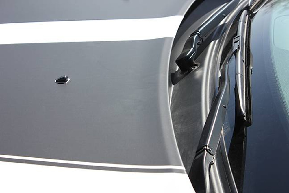 2011- 2019 Dodge Durango Propel Hood Stripe Graphic Kit Close Up