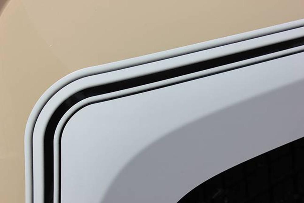 2014-2019 Chevy Silverado Retro Cheyenne Graphic Kit Front Fender Detail View