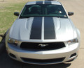 2010-2012 Ford Mustang Wildstang Racing Stripes Graphic Kit