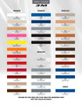 2011-2014 Dodge Charger E Rally Stripes Graphic Kit