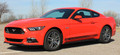 2015 Ford Mustang Breakup Vinyl Rocker Stripe Graphic Kit