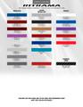 2014-2015 Chevrolet Camaro Throwback Hockey Stripe Kit