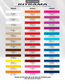 Ritrama Pinstripes Stripes & Graphics Color Chart
