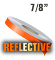 "7/8"" Reflective Solid Stripe Roll"
