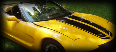 1998-2004 C5 Chevy Corvette Racing Stripes