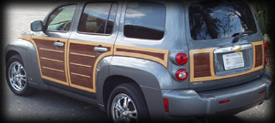 Chevrolet HHR Woody Woodgrain Kit