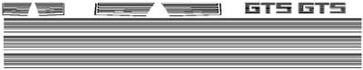 86-87 Toyota Celica GTS Graphic Kit