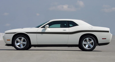 10-11 Dodge Challenger Beltline Graphic Kit