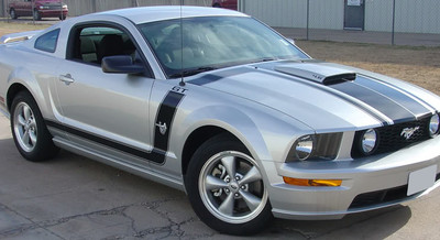 05-09 Ford Mustang Fastback 2 Graphic & Decal Kit With Hood Scoop
