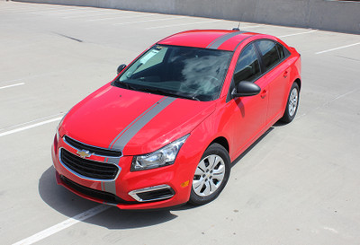 2008-2015 Chevrolet Cruze Cruzin' Euro Rally Stripe Graphic Kit