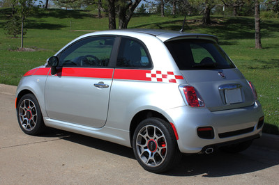 2011-2016 Fiat 500 SE5 Checkered Flag