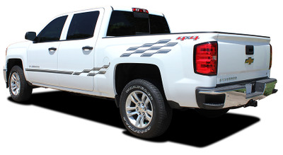 2013-2017 Chevy Silverado Champ Graphic Kit